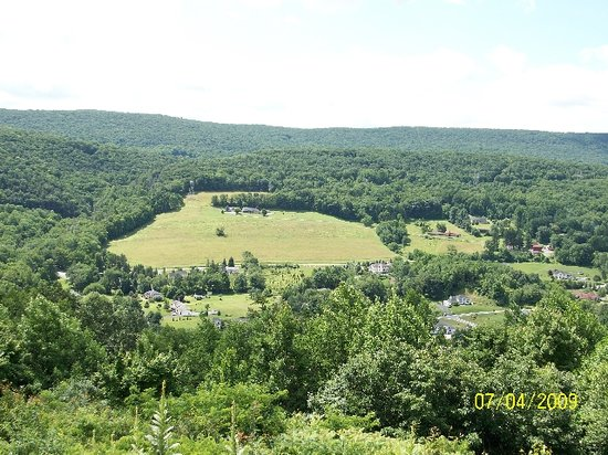 Stroudsburg, Pennsylvanie : View from Ridgecrest