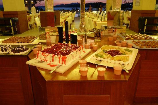 Diamond of Bodrum: les desserts
