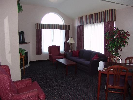 Comfort Suites of Corvallis: Suite suited for a king!