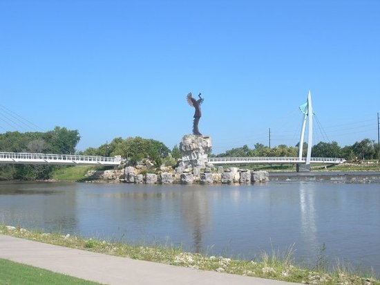 Arkansas River Trail Wichita Ks Address Attraction