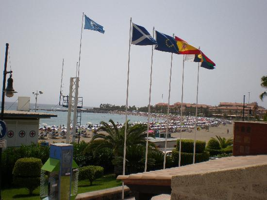 Compostela Beach Golf Club: European Union Flag