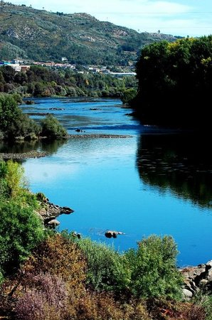 Ourense, Ισπανία: A view from Auga de Vida (thermal pools) ...