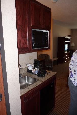 Holiday Inn Express Hotel &amp; Suites Jackson: The room