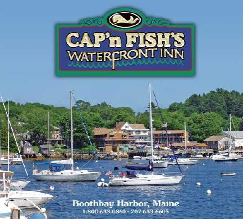 Cap'n Fish's Waterfront Inn : Breathtaking Views