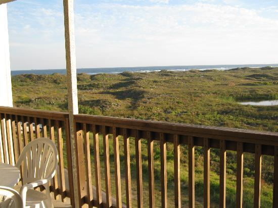 Port Royal Ocean Resort & Conference Center: Great Views from the private deck
