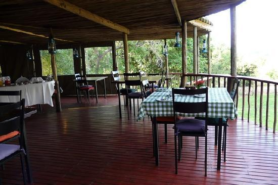 Zuleika Country House: Enjoy your dinner/breakfast here