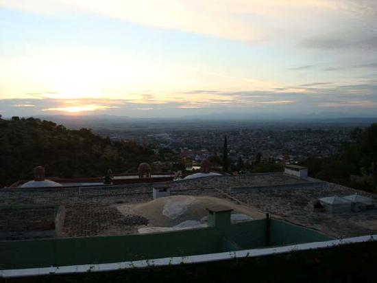 Mi Besito: View of the beatuful sunset at the terrace