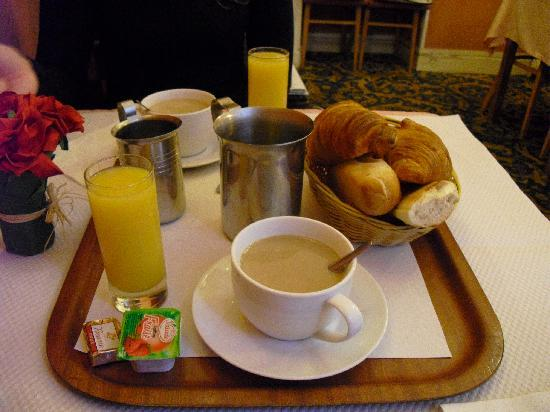 Hotel Andre Gill: Desayuno