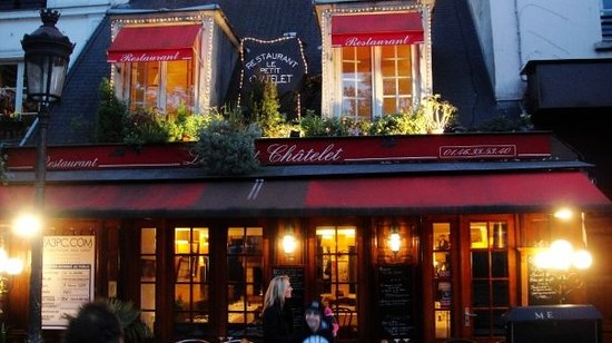Le petit chatelet paris odeon saint michel - La petite cuisine a paris ...