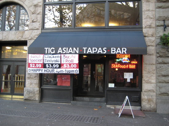 tig asian tappas bar seattle downtown restaurant reviews phone