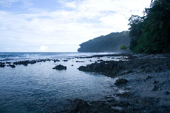 Gatokae Island, Wyspy Salomona: Madali beach, late evening