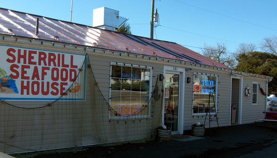 , : Sherrill&#39;s Seafood-don&#39;t drive by! Stop!