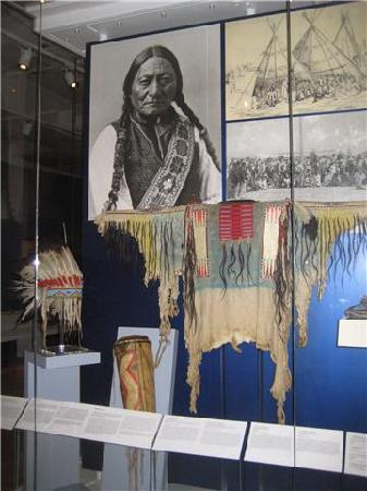 Royal Ontario Museum: A Native People's clothing at the ROM.