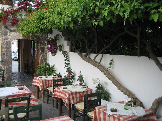 Pictures of Avli Restaurant, Kardamena