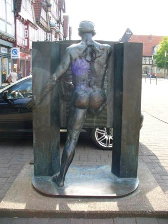 Celle, Germany: This is the back - interesting