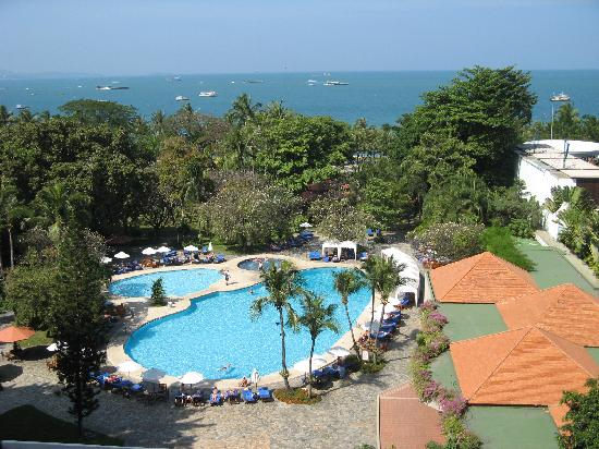 Montien Hotel Pattaya: view from my room