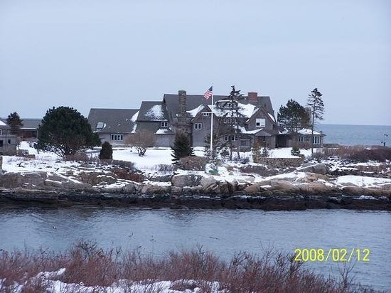 Kennebunkport, Мэн: the bush's crib
