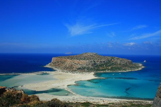 Balos lagoon, Kissamos, Crete, Greece