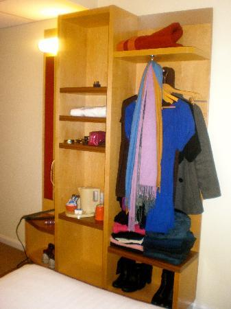 "Holiday Inn Express London - Park Royal: ""Open styled"" closet"