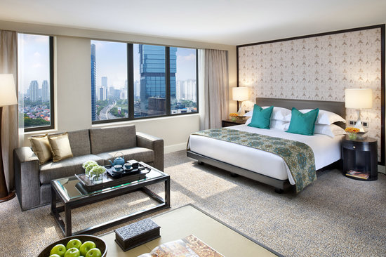 Mandarin Oriental, Jakarta: Spacious and sophisticated, the design of our 272 rooms and suites reflects modern sensibility a