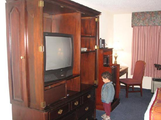 Point Plaza Suites and Conference Hotel: kid not included :-)