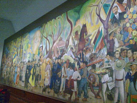 Museo mural diego rivera mexico city reviews of museo for Diego rivera mural