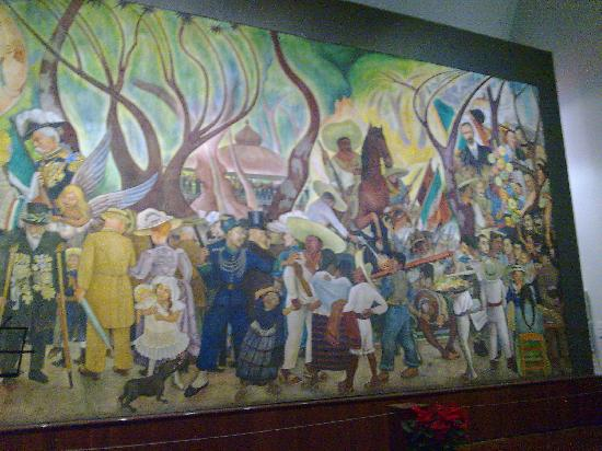 Mexico alameda dominical diego rivera 4 picture of museo for Diego rivera famous mural