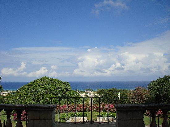 Rose Hall, Jamaïque : View from the great house