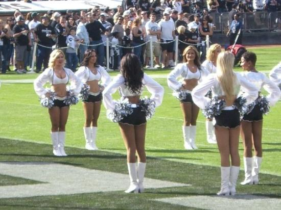 Oakland, CA: Raiderettes!!  These ladies have automatic wifey potential...