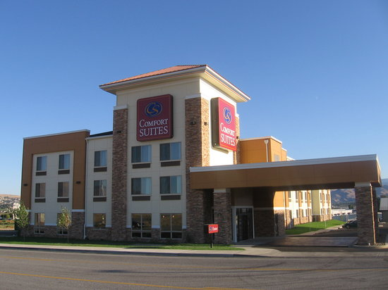 Comfort Suites: Front of the Hotel