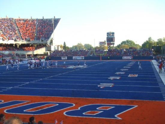 Boise State University: The famous blue field. Like this photo?