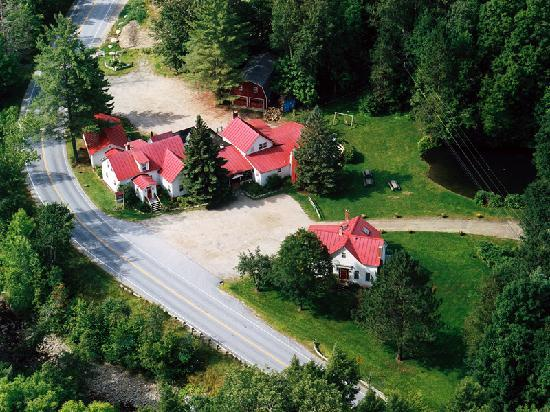 Aerial view of The Hyde Away Inn & Restaurant