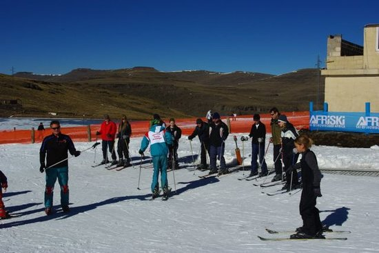 Afriski ski and mountain resort