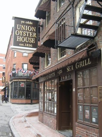 Union oyster house boston recensioni sui ristoranti for Amici italian cuisine boston ma