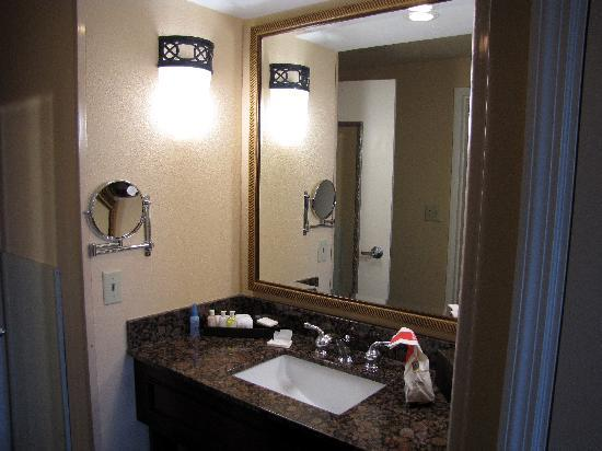 Buena Vista Suites: The sink area between the bedroom and living area