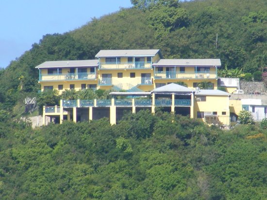 The Heritage Inn from Long Bay