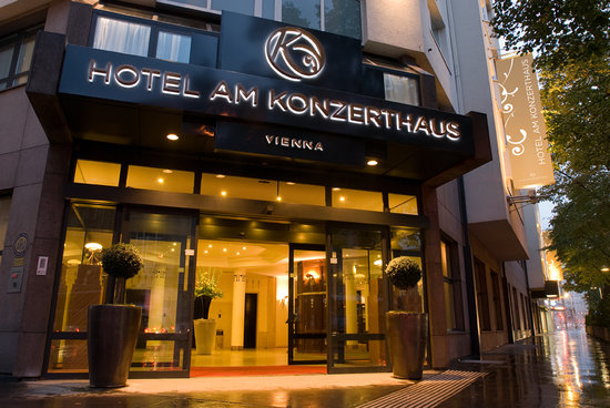 Hotel am Konzerthaus: Eingang