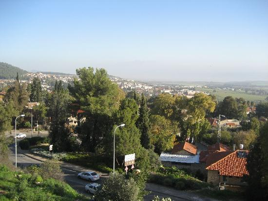 Auberge Shulamit: The View