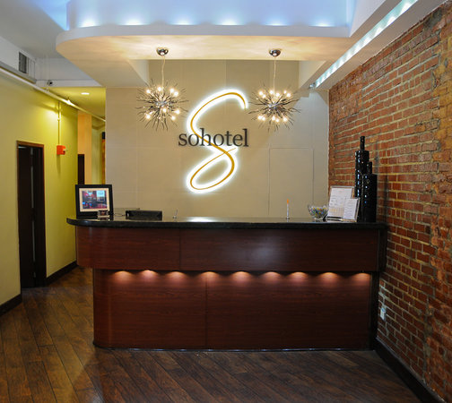 Sohotel : Front Desk 