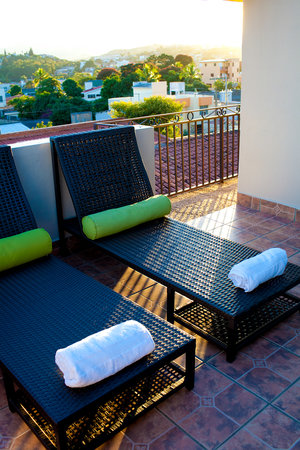 Humuya Inn: Sun deck