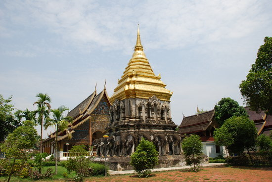 Chiang Mai, Thailand: Wat Chiang Man 1