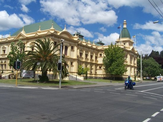 Albert Hall Launceston -across the road from our hotel