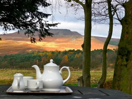 Peak District National Park, UK: Cup of tea