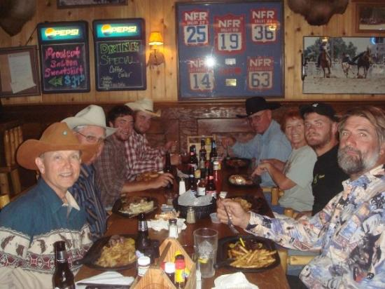 Saloon Cut Outs Proud Cut Saloon Dinner at