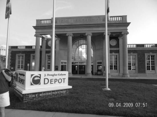 Greensboro (NC) United States  city images : Greensboro Photo: Greensboro, NC, United StatesThe Old Train Depot