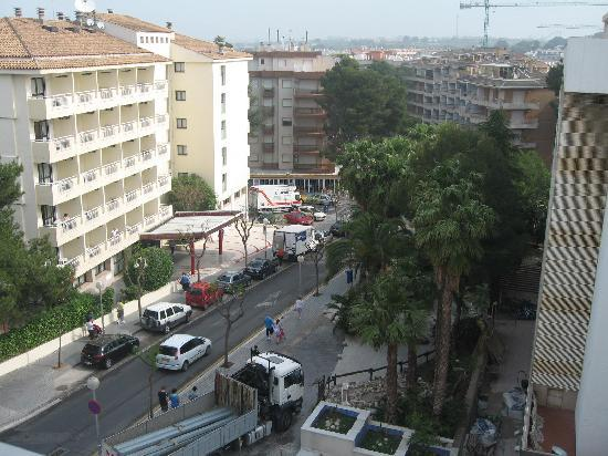 4R Salou Park: View from Balcony at rear of hotel