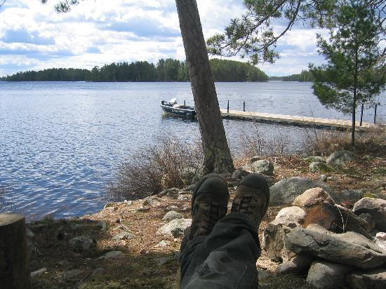 Big Lake Wilderness Lodge: GO TO YOUR HAPPY PLACE