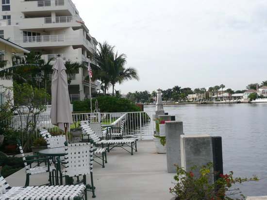 Fort Lauderdale Manhattan Tower: Hotel dock