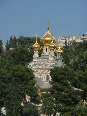 Иерусалим, Израиль: Marie Magdalena Church - Jerusalem