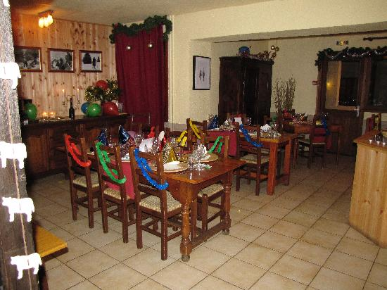 dining room set up for new years eve picture of le rif blanc le